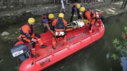 Evakuacija teško povređene osobe