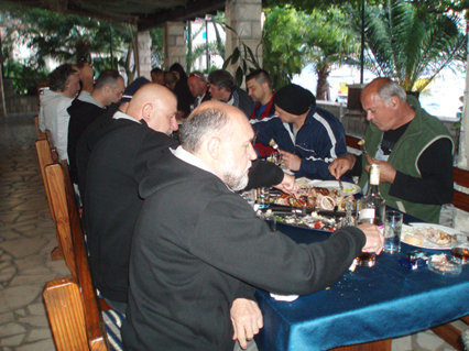 Festa povodom 10 godina druzenja u Rosama